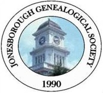 Jonesborough Genealogical Society's website